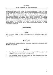 Satzung für das Jugendamt der Stadt Hückelhoven [PDF, 17 KB]