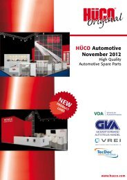 HÜCO Automotive November 2012 - Hüco Electronic GmbH