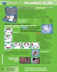 SKLENĚNÉ PILÍŘE - Hu-Fa Dental