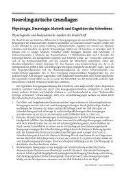 Neurolinguistische Grundlagen - Guido Nottbusch