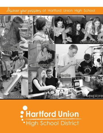 2013 District Newsletter - Hartford Union High School
