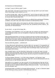 Die Geschichte vom Weihnachtshasen von Hugh ... - Hugh-lorenz.com