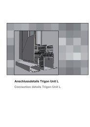 TRIGON Unit L - HUECK + RICHTER Aluminium GmbH