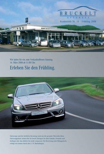 Kundeninfo Nr.18 - Autohaus Bruckelt Gmbh