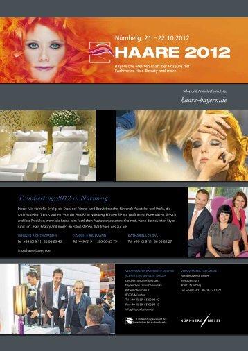haare-bayern.de Trendsetting 2012 in Nürnberg