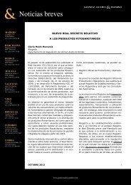 Nuevo real decreto relativo a los productos fitosanitarios