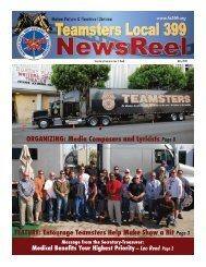 FEATURE - Teamsters Local 399