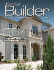 MS Builder Magazine May/June 2011 - Home Builders Association ...