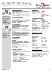Hesse Rapido- PUR DE 423- x(Glansgraad) - Hesse Lignal