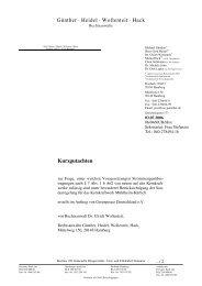 Rechtsgutachten zur Strommengenübertragung, 2006 - Greenpeace