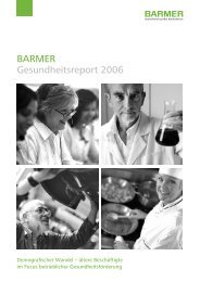 BARMER Gesundheitsreport 2006 - haward