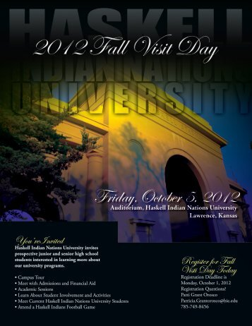 Friday,October 5, 2012 - Haskell Indian Nations University
