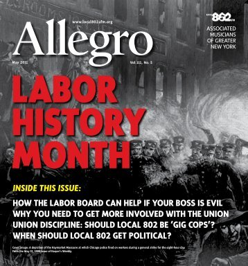 INSIDE THIS ISSUE: how the labor board can help if your boss is ...