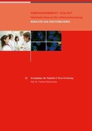Grenzgänger der Hepatitis C Virus-Forschung - Helmholtz-Zentrum ...