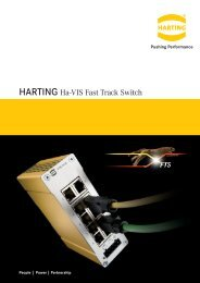 HARTING Ha-VIS Fast Track Switch