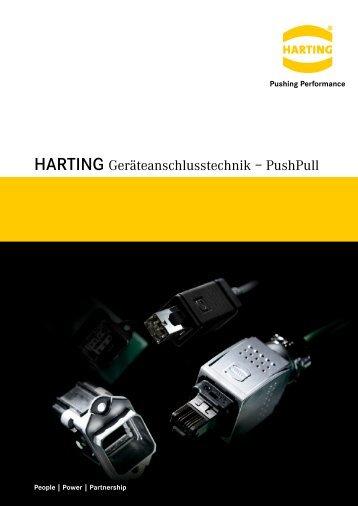 HARTING Geräteanschlusstechnik – PushPull