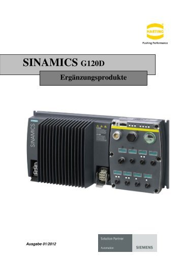 SINAMICS G120D - Harting