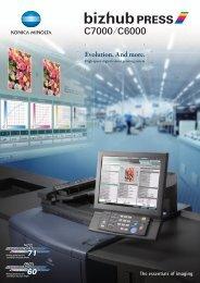 Product Brochure - Konica Minolta bizhub