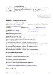 Auftragsbekanntmachung - VOF-Vergabeverfahren ... - Grün Berlin
