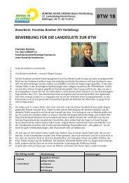 Franziska Brantner (KV Heidelberg) - BÜNDNIS 90/DIE GRÜNEN ...