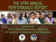 HPRP Year 1 APR Lessons Learned Webinar Slides - OneCPD