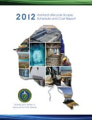 2012 Lifecycle Report - Hanford Site
