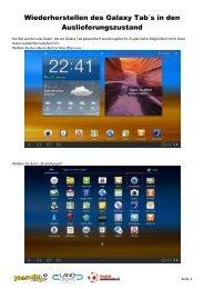 Anleitung Inbetriebnahme Samsung Galaxy Tab 10.docx - Handyshop