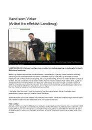 Kvægbrug - Effektivt Landbrug Nov. 08 - Grander