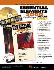 Essential Elements 2000 - Hal Leonard