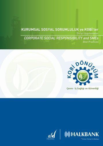 Kurumsal Sosyal Sorumluluk Nedir? - Türkiye Halk Bankası