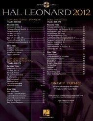 Mp3 disc included - Hal Leonard