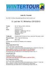 6. Lauf der 10. Wintertour 2012/2013 - hsvwrn-ol.at