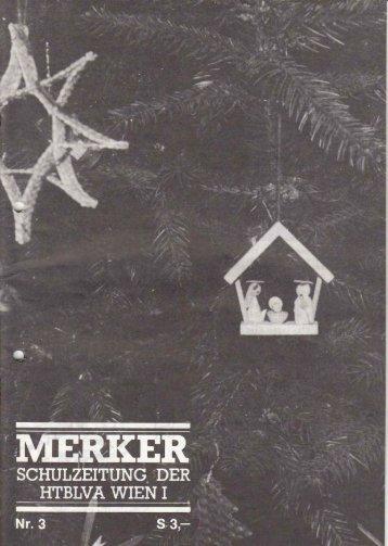 merker-1981-82-Heft-3 - HTL Ottakring