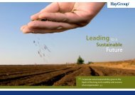 Leading to a Sustainable Future - Hay Group