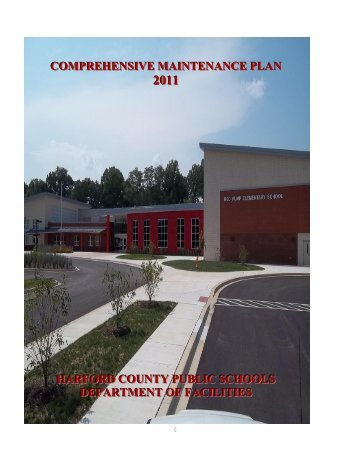 2011 Comprehensive Maintenance Plan - Harford County Public ...