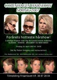 Forårets hotteste hårshow! - Hair Magazine