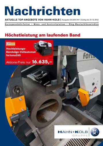NEU - HAHN+KOLB Werkzeuge GmbH