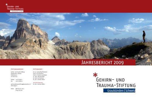 Gehirn- und Trauma-Stiftung Jahresbericht 2009