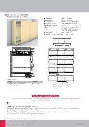 Finetta Flatfront Wooden Sliding Door Fittings (3.69MB) - Hafele