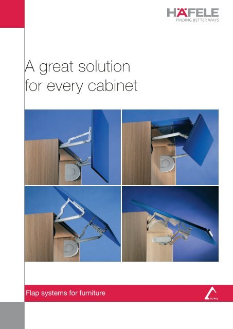 Huwil A Great Solution For Every Cabinet Hafele