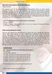 Junge Familie - Gesundheitszentrum Ahaus