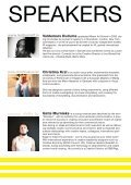 a think tank, lecture and workshop by Christian Zoellner, Gatis ... - Page 3