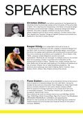 a think tank, lecture and workshop by Christian Zoellner, Gatis ... - Page 4
