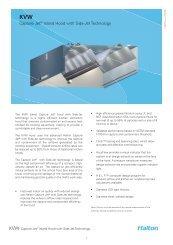 KVW Spec Sheet - Halton Company