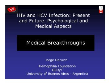 HIV and HCV Infection: Present and Future
