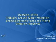 NEI Update January 2011 - Groundwater Protection Council