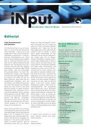 iNPUT Mai 2004 - Gewerbeverband Uster