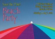 Beach Party - Hebron Academy