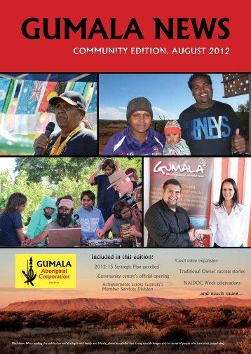 Gumala News - August 2012 - Community Edition