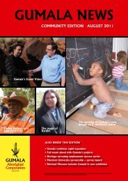 Gumala News - August 2011 Community Edition